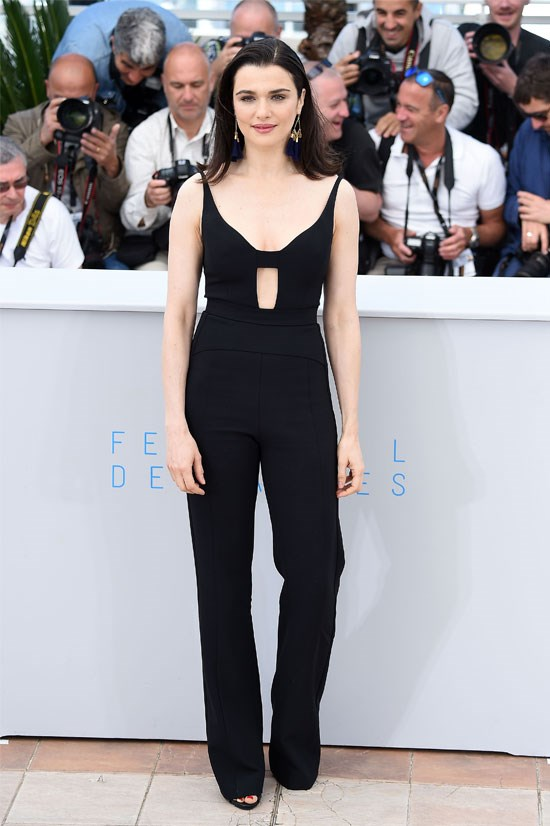 <strong>Rachel Weisz</strong> wearing Narciso Rodriguez