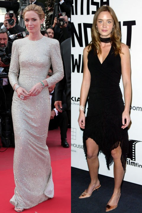 <strong>EMILY BLUNT</strong> <BR> <strong>Now:</strong> At the Cannes Film Festival <BR> <strong>Then:</strong> At the 2004 British Independent Film Awards