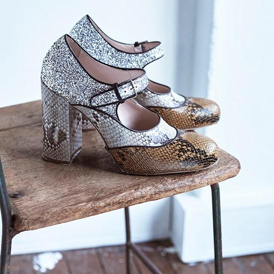 Shoes, $1,140, Miu Miu, (02) 9223 1688