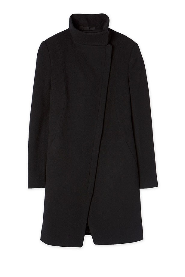 "Coat, $399, Country Road, <a href=""http://www.countryroad.com.au/shop/woman/clothing/jackets-and-coats/60180046/Funnel-Neck-Coat.html"">countryroad.com.au</a>"