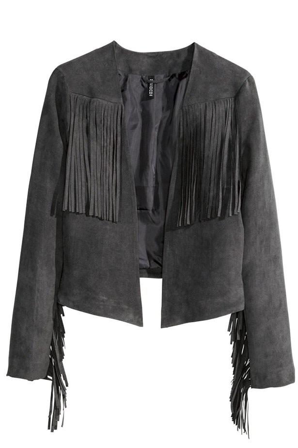"""Jacket, $59.95, H&M, <a href=""""http://www.hm.com/au/product/86276?article=86276-A"""">hm.com/au</a>"""