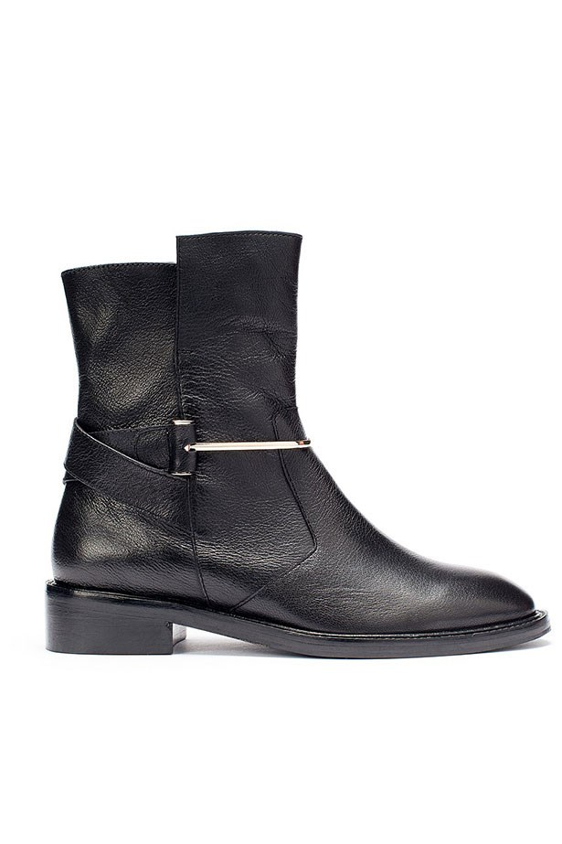 """Boots, $249.95, Country Road, <a href=""""http://www.countryroad.com.au/shop/woman/shoes/new-in/60171235/Jodi-Biker-Boot.html"""">countryroad.com.au</a>"""