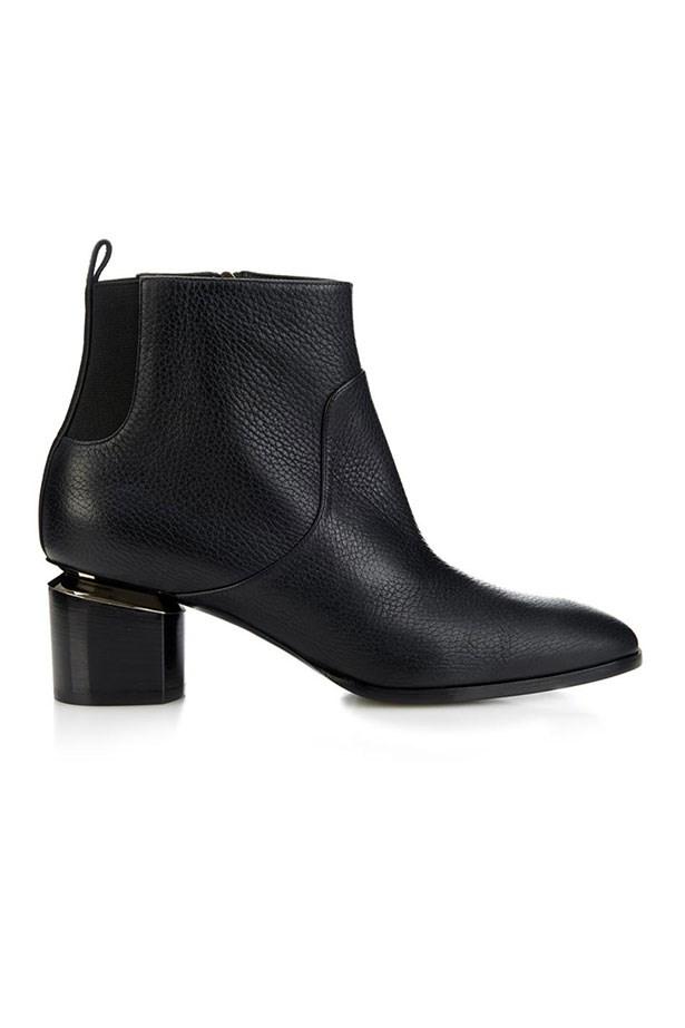 "Boots, $1169, Nicholas Kirkwood, <a href=""http://www.matchesfashion.com/au/products/Nicholas-Kirkwood-Grained-leather-ankle-boots-1016803"">matchesfashion.com</a>"