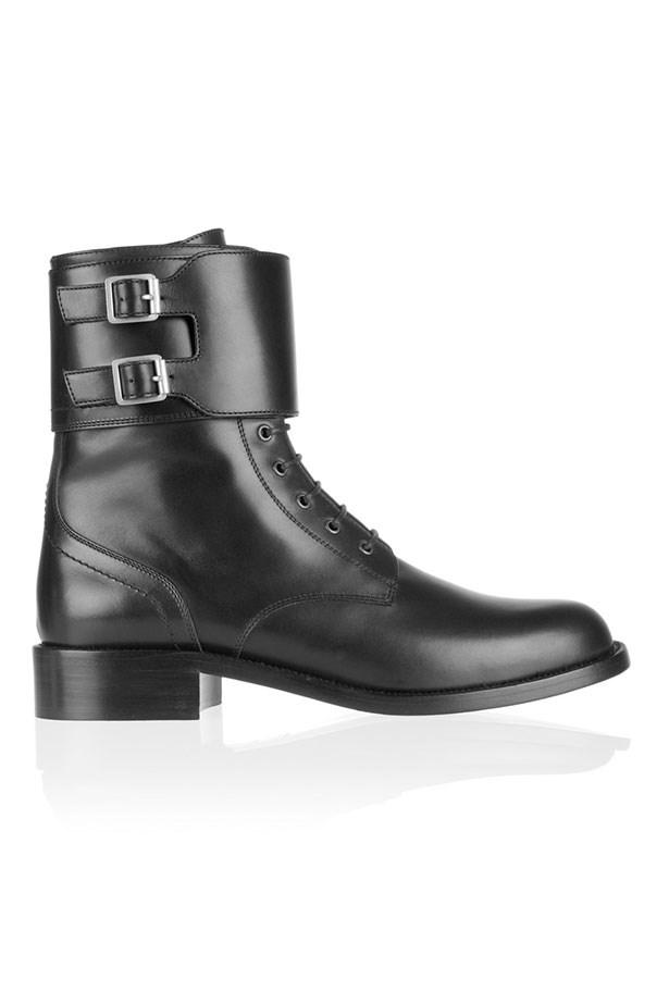 """Boots, $1448, Saint Laurent, <a href=""""http://www.net-a-porter.com/au/en/product/374666"""">net-a-porter.com</a>"""