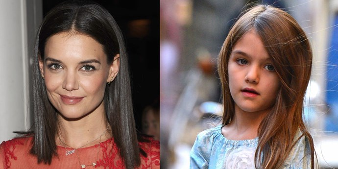 <strong>Katie Holmes and Suri Cruise</strong>