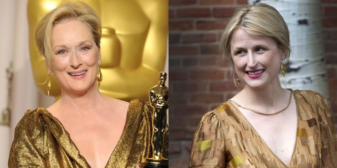 <strong>Meryl Streep and Mamie Gummer</strong>