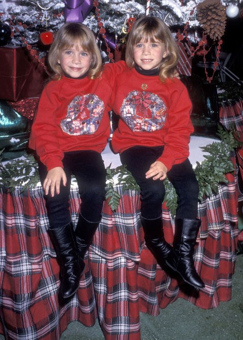 DECEMBER 1, 1991 At the 60th Annual Hollywood Christmas Parade.