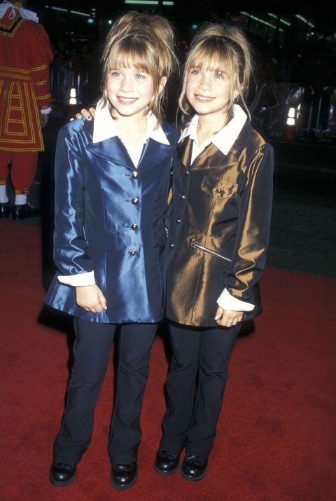 JANUARY 28, 1998 At the Spice World premiere.