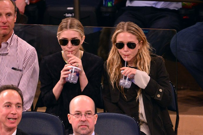 MAY 16, 2013 At a New York Knicks v. Indiana Pacers basketball game.