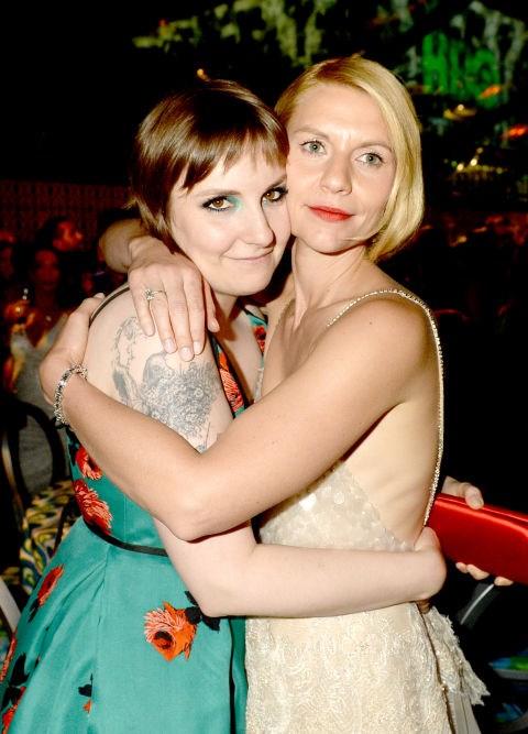 <p><strong>Lena Dunham and Claire Danes</strong> <p><em>Girls</em>-<em>Homeland</em>-spinoff-in-the-making friends.