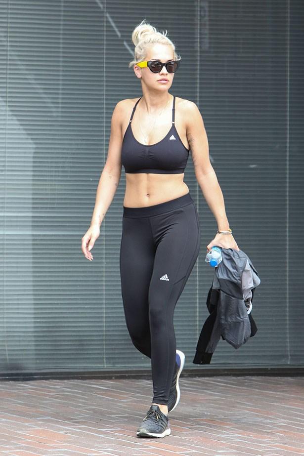 Rita Ora, working it.