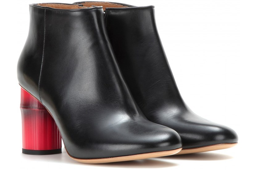 """ACNE Luda ankle boots, <a href=""""http://www.mytheresa.com/en-au/luda-leather-ankle-boots.html"""">mytheresa</a>"""