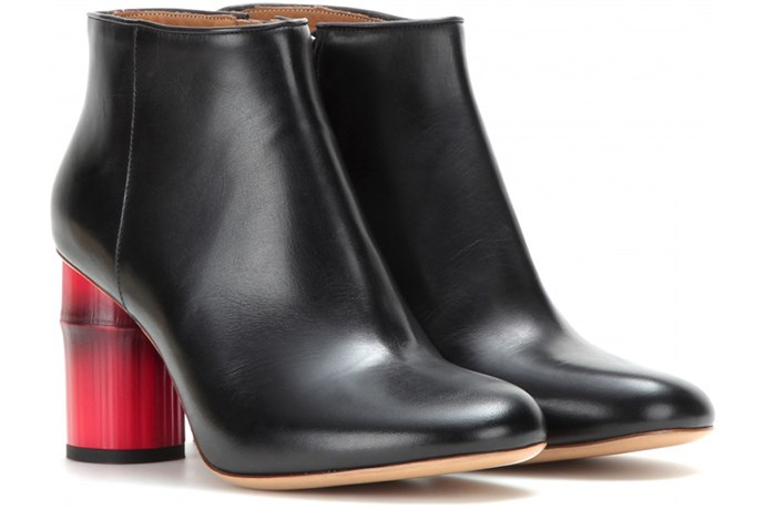 "ACNE Luda ankle boots, <a href=""http://www.mytheresa.com/en-au/luda-leather-ankle-boots.html"">mytheresa</a>"