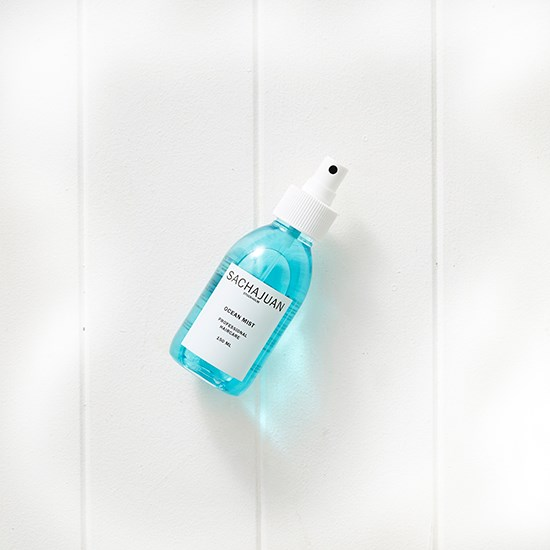 "I'm missing dips in the ocean but this is the next best thing. <a href=""http://www.sachajuan.com.au/ocean-mist-150ml/ "">Ocean Mist, $35 for 150ml, Sachajuan, sachajuan.com.au</a>"