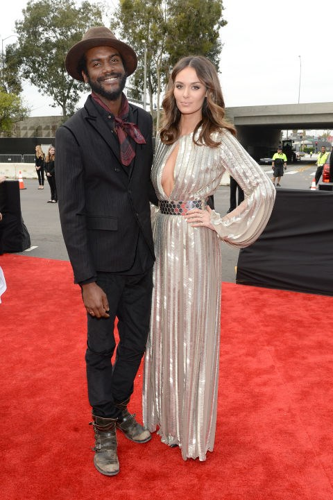 GARY CLARK JR AND NICOLE TRUNFIO (2011-PRESENT) Clark Jr. proposed to Trunfio in 2014, shortly before she gave birth to their first son early this year.