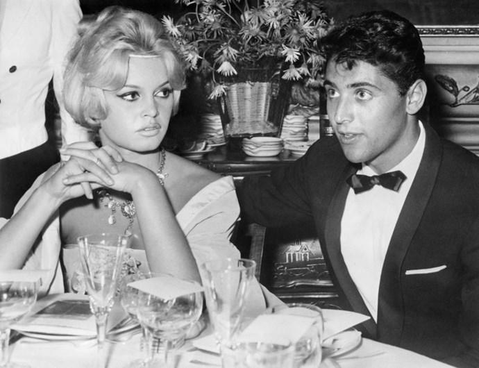 BRIGITTE BARDOT AND SACHA DISTEL (1958-59)
