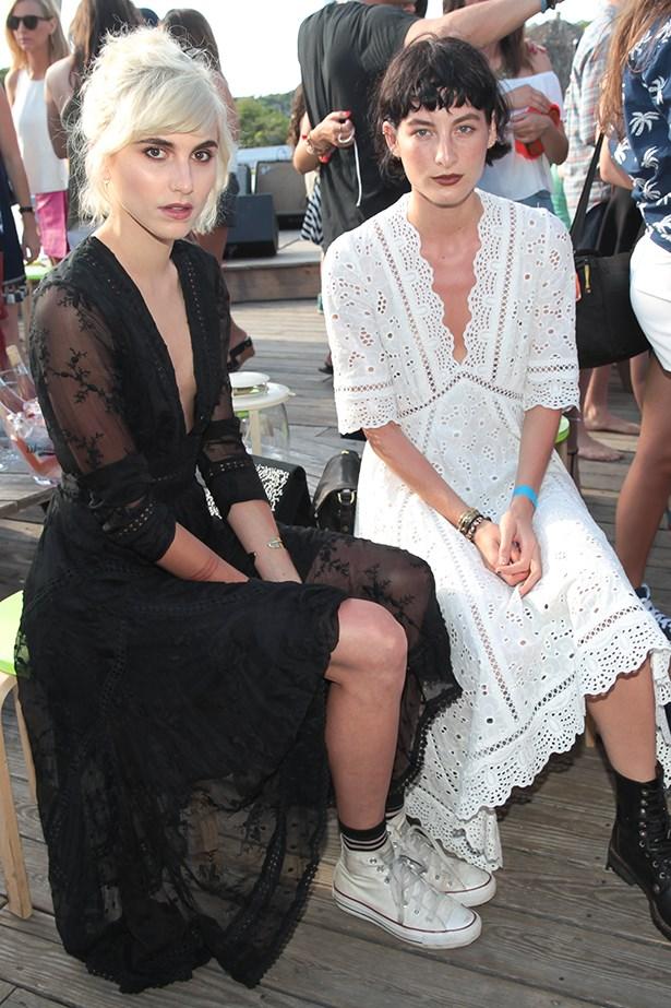 Langley Fox and Heather Kemesky.