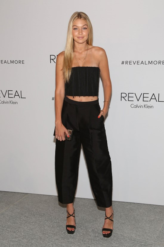<strong>SEPTEMBER 8, 2014</strong> <BR> At the REVEAL Calvin Klein Fragrance Launch Party at 4 World Trade Center in New York
