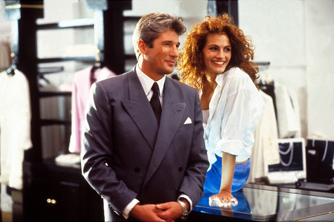 <strong><em>Pretty Woman</strong></em><br> <strong>People:</strong> Julia Roberts (22) and Richard Gere (40)<br> <strong>Age gap: </strong>18 years