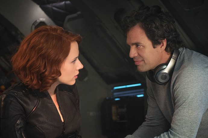 <em><strong>Avengers: Age of Ultron</strong></em><br> <strong>People:</strong> Scarlett Johansson (30) and Mark Ruffalo (47)<br> <strong>Age gap:</strong> 17 years