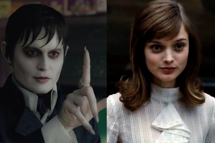 <em><strong>Dark Shadows</strong></em><br> <strong>People:</strong> Bella Heathcote (24) and Johnny Depp (48)<br> <strong>Age gap:</strong> 24 years