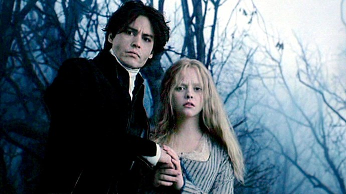 <em><strong>Sleepy Hollow</strong></em><br> <strong>People: </strong>Chrstina Ricci (19) and Johnny Depp (36)<br> <strong>Age gap:</strong> 17 years