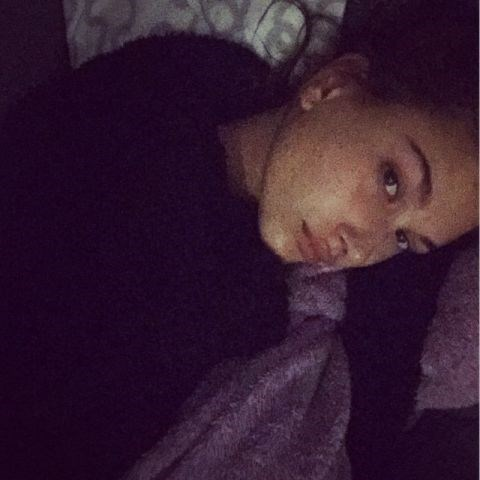 """<strong>HAILEY BALDWIN</strong> <BR> Home sweet home haven't moved from the couch in 3 hrs. <BR> —<a href=""""https://instagram.com/p/3-zAAeFDHK/"""">@haileybaldwin</a>"""