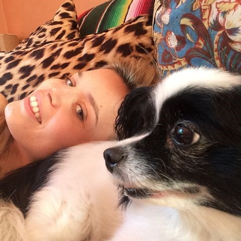 """<strong>GEORGIA MAY JAGGER</strong> Will miss you dink! <BR> —<a href=""""https://instagram.com/p/3HFSx0nUMC/"""">@georgiamayjagger</a>"""