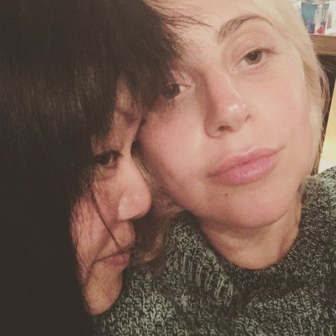 """<strong>LADY GAGA</strong> <BR> My dear friend for 6 years, we fell in love years ago she is a blond mad scientist bleach warlock. Genius stuff, the incredible Patti Song. <BR> —<a href=""""https://instagram.com/p/2-NHKdpFNW/"""">@ladygaga</a>"""