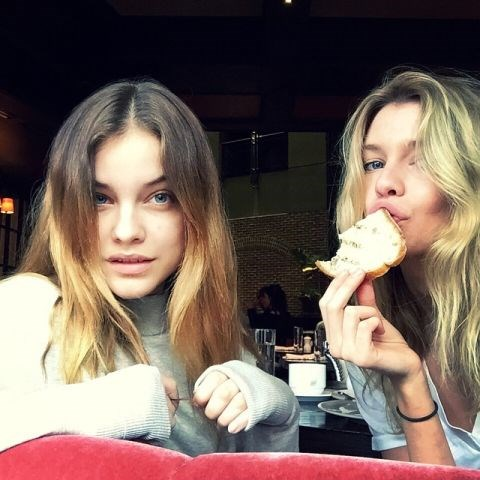"""<strong>BARBARA PALVIN</strong> <BR> post bday brunch! <BR> —<a href=""""https://instagram.com/p/2wP4bQHAUu/"""">@realbarbarapalvin</a>"""