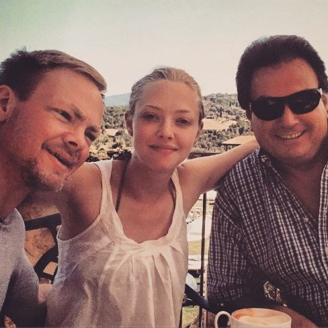 """<strong>AMANDA SEYFRIED</strong> <BR> Tbt to my two dads. <BR> Tuscany 2009 <BR> —<a href=""""https://instagram.com/p/10jZcYSdvL/"""">@mingey</a>"""