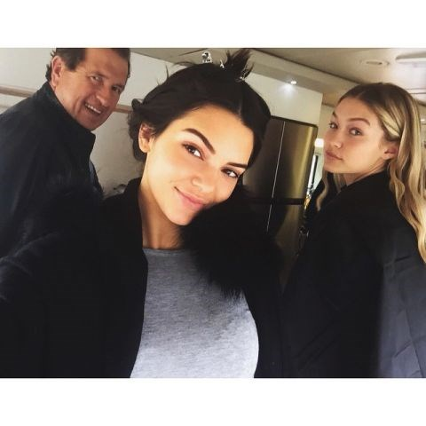 """<strong>KENDALL JENNER AND GIGI HADID</strong> <BR> Dream team. <BR> —<a href=""""https://instagram.com/p/0iqpz4jo3S/"""">@kendalljenner</a>"""