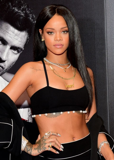OCTOBER 25, 2014 At the Rouge Man By Rihanna Fragrance Launch