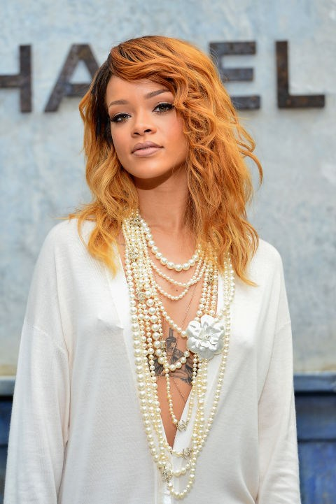 JULY 2, 2013 At the Chanel Show during Paris Fashion Week