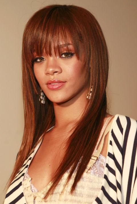 MARCH 2, 2006 At the Rihanna Video Shoot
