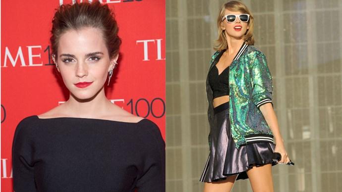 Taylor Swift meets Emma Watson