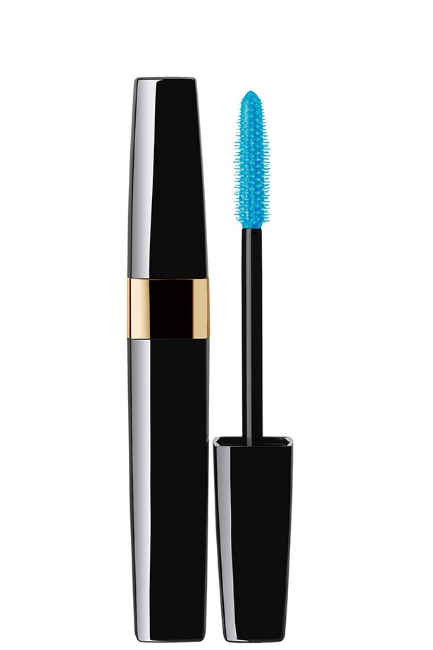 <strong>Mascara</strong>: Cils Scintillants in Jazzy Blue, $48, Chanel, (02) 9900 2944<br><br> <strong>Best for</strong>: Long-lasting disco lashes.<br><br> <strong>We love</strong>: The electrifying turquoise-blue colour adds a disco-ball shine to your lash tips. Available from September.