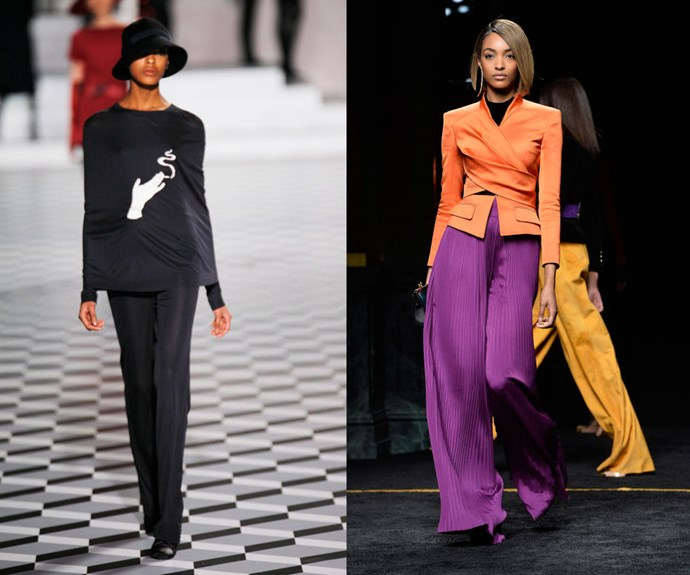 JOURDAN DUNN <p>At Marc Jacobs' Fall/Winter 2007 presentation, and walking the Balmain Fall/Winter 2015 show earlier this year.</p> <p>Now one of an established group of It models (and friends) that includes Joan Smalls and Karlie Kloss, Dunn debuted at Marc Jacobs in 2007.</p>