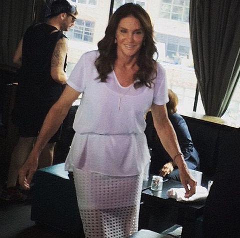 JUNE 28, 2015 In Alexander Wang at a NYC Pride party at Dream Downtown Hotel. INSTAGRAM