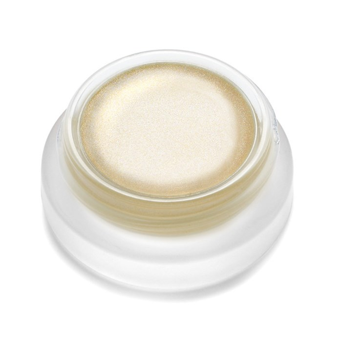 """<strong>Fair complexions</strong> <br> <br> <a href=""""http://mecca.com.au/rms-beauty/living-luminiser/I-020192.html"""">Living Luminiser, $50, RMS Beauty</a>"""