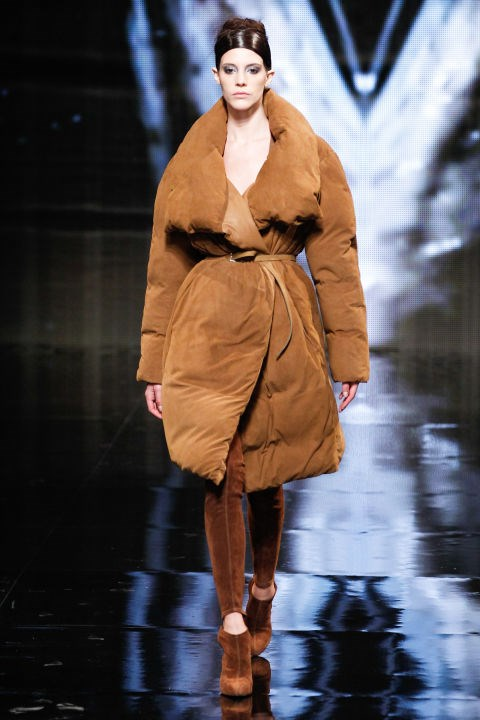 Donna Karan Fall 2014 Getty