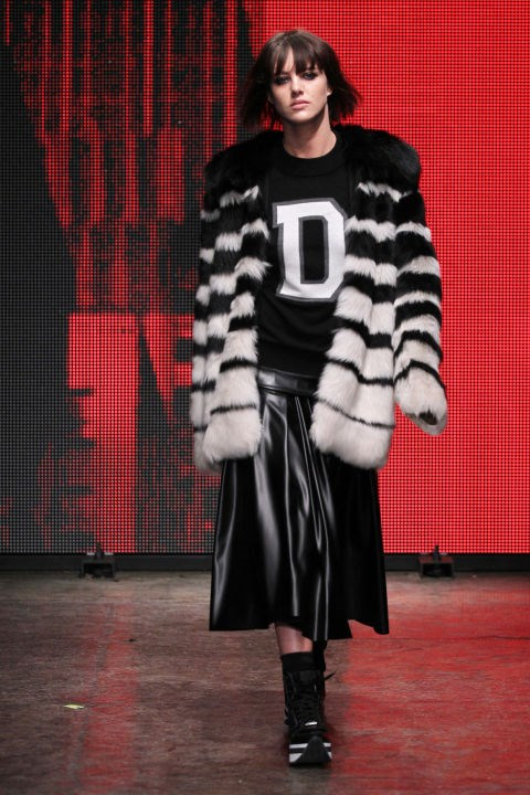 DKNY Fall 2014 Getty