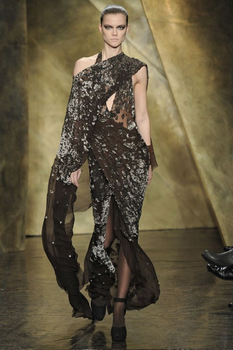 Donna Karan Fall 2013 Getty