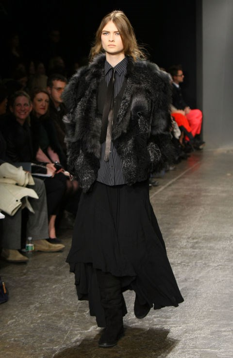 Donna Karan Fall 2012 Getty