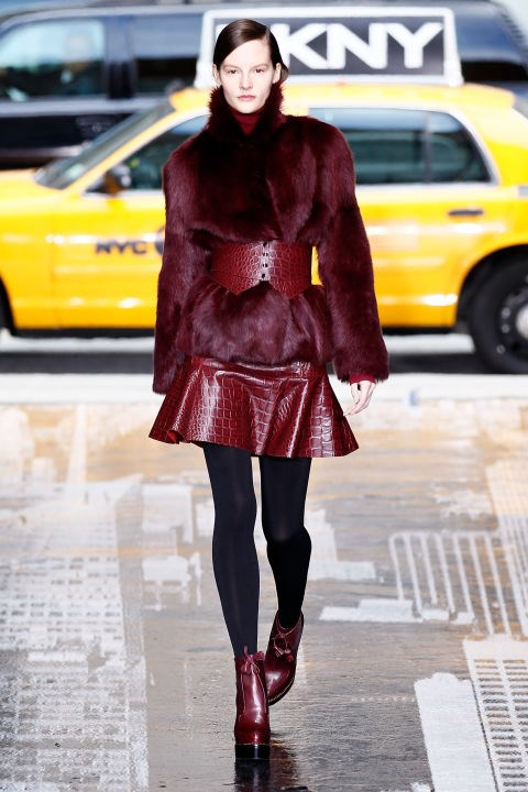 DKNY Fall 2012 Getty