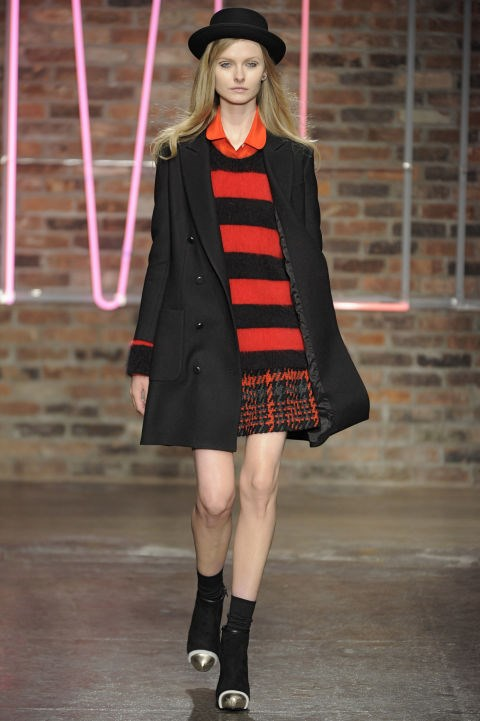 DKNY Fall 2011 Getty
