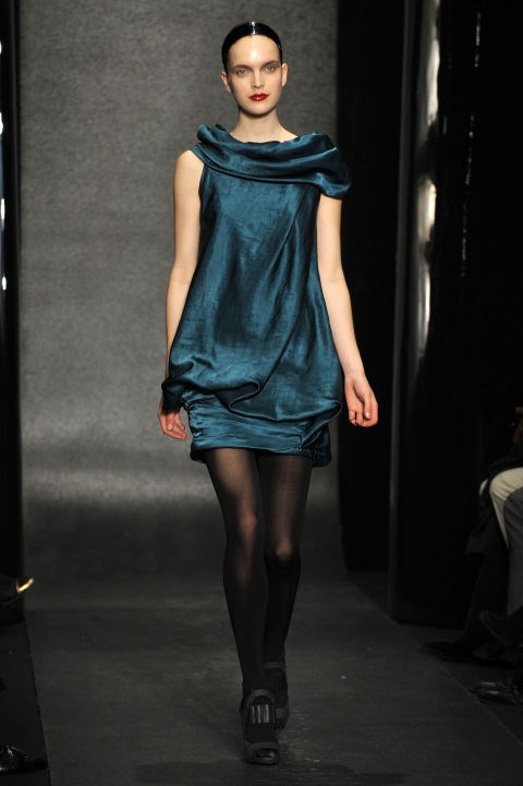 Donna Karan Fall 2010 Getty