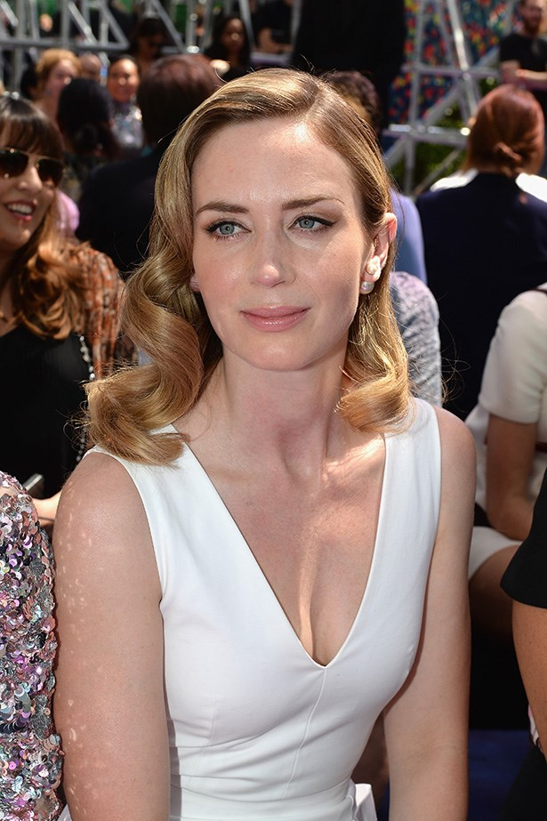 Emily Blunt at Dior.