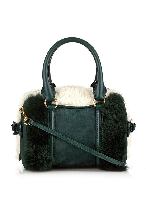 Bag, $3,950, Burberry Prorsum, matchesfashion.com