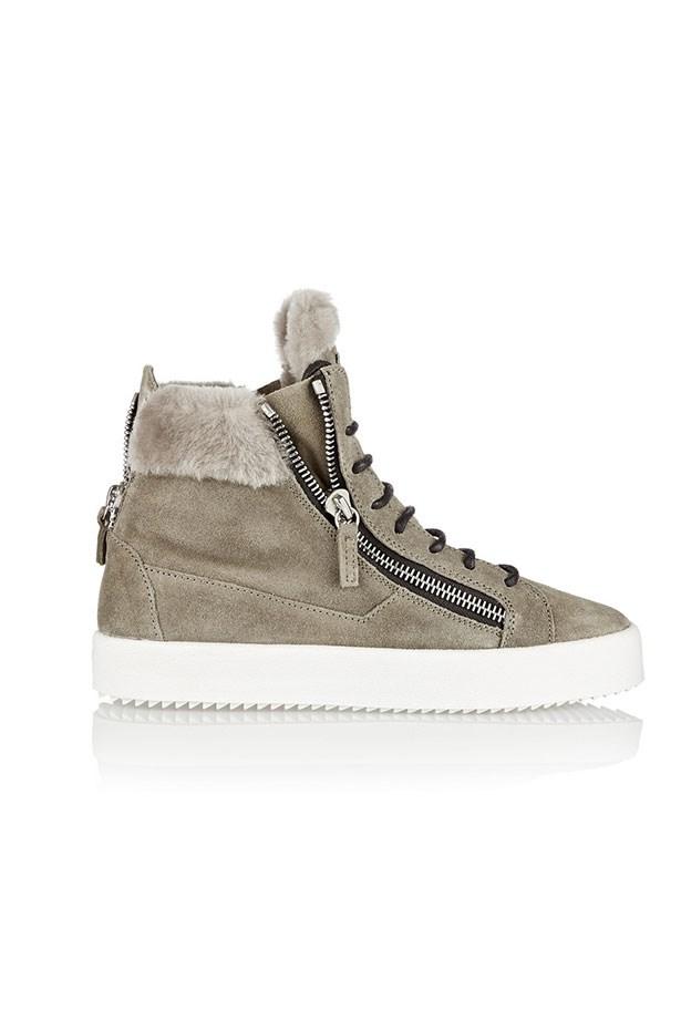 Sneaker, $670, Giuseppe Zanotti, net-a-porter.com